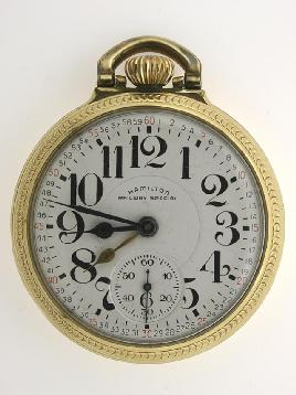 Hamilton 922B Pocket Watch