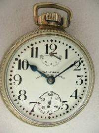 Waltham with UP/Down IndicatorPocket Watch